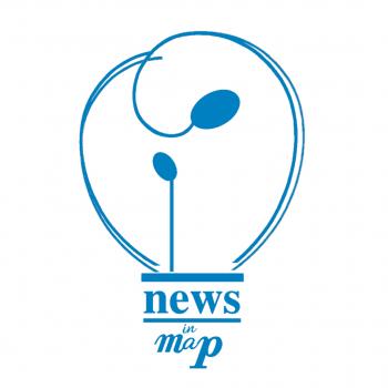 News in Map - Logo