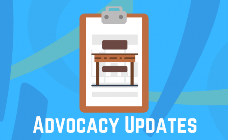 Update on AEC advocacy activities – May