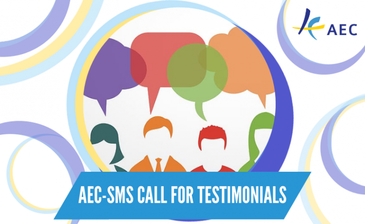 AEC-SMS project approaching its end: measuring the impact and looking for testimonials