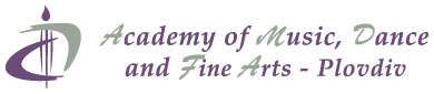 "Academy of Music, Dance and Fine Arts ""Prof. Asen Diamandiev"""